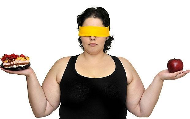 alimentação ruim é igual excesso de peso?